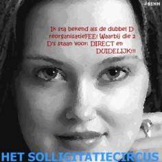Het SollicitatieCircus_61 - dubbel d reorganisatiefee