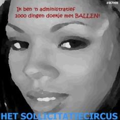 Het SollicitatieCircus_87 - 1000 dingen doekje met ballen
