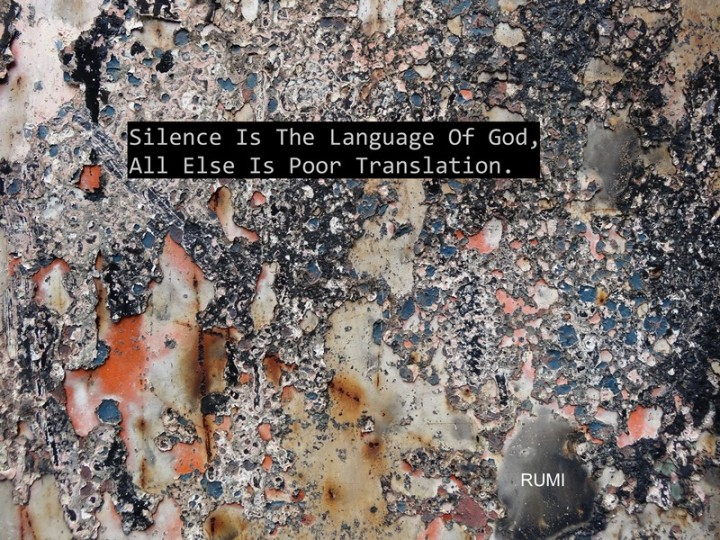 MoArt and Rumi - Silence Is The Language Of God...