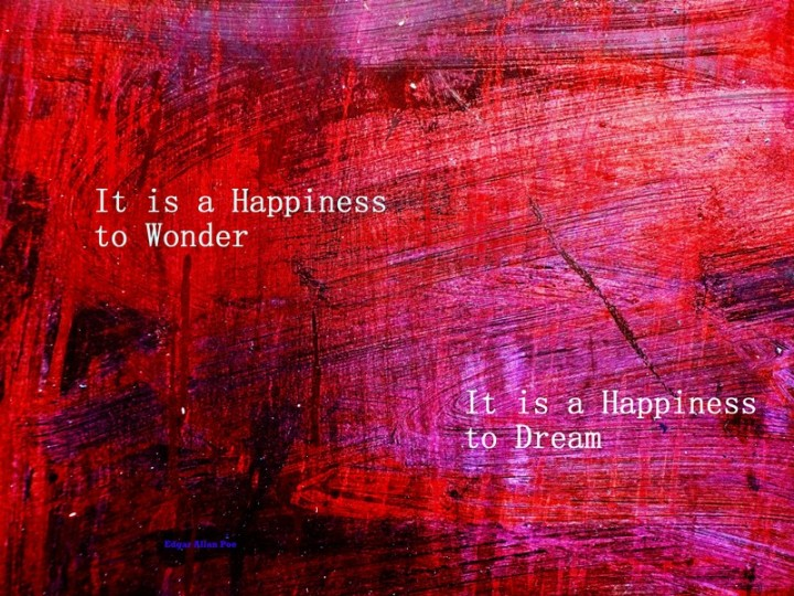 MoArt and Edgar Allan Poe - It Is A Happiness To Wonder voor FB