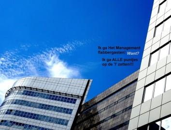 Ik ga Het Management flabbergasten! Want? Ik ga ALLE puntjes op de 'I' zetten!!!