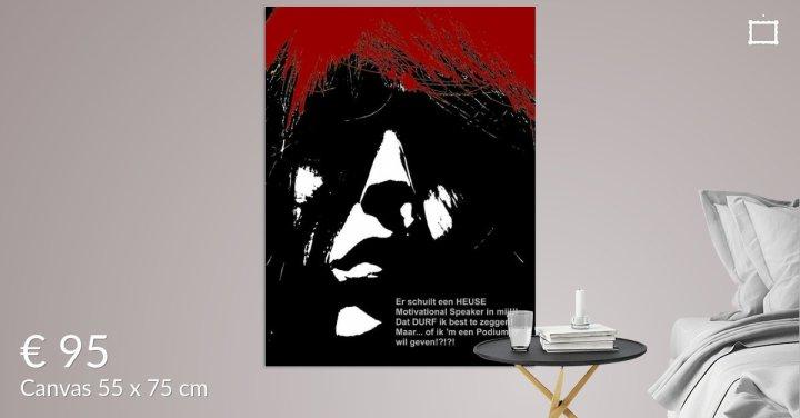 MoArt Dolende Dertiger aan je muur - Een Podium Geven s6a