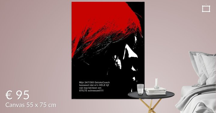 MoArt Dolende Dertiger aan je muur - Om Stilte Schreeuwen s6a
