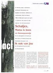 AIESEC A4 Magazine - februari 2001 - Interview Anders FilmRegisseur Ruud van Hemert - 2-4