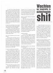 AIESEC A4 Magazine - mei 2000 - Interview Anders Striptekenaar Gerrit de Jager - 3-4