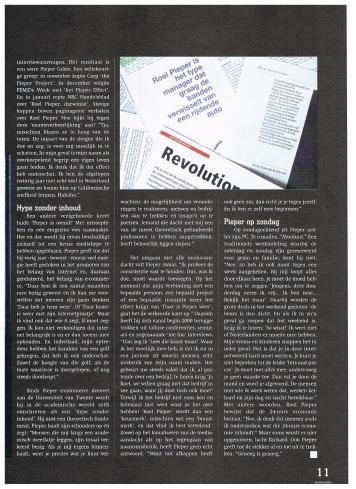 AIESEC A4 Magazine - mei 2000 - Top van Nederland Super CEO Roel Pieper - 4-4