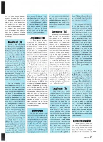 AIESEC A4 Magazine - november 2001 - Top van Nederland Fusiespecialist Cees Rovers - 4-5