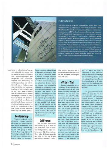 AIESEC A4 Magazine - november 2001 - Top van Nederland Fusiespecialist Cees Rovers - 5-5