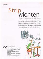 Avanta Magazine - oktober 2002 - Stripheldinnen over carrieremaken - ambities - glazen plafond 1-4