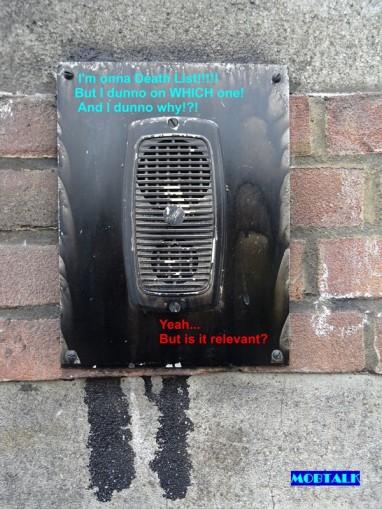MobTalk - GangsterPraat - On A Death List But Which One small
