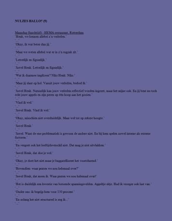 Helemaal Hopeloos columns - Age Morris - Nulzes Hallo 9 1-2