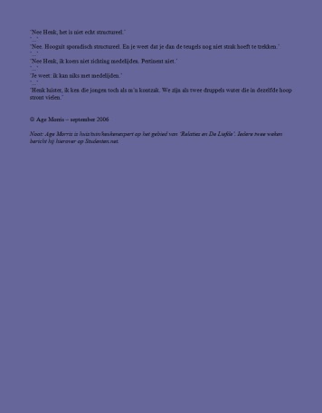 Helemaal Hopeloos columns - Age Morris - Nulzes Hallo 9 2-2